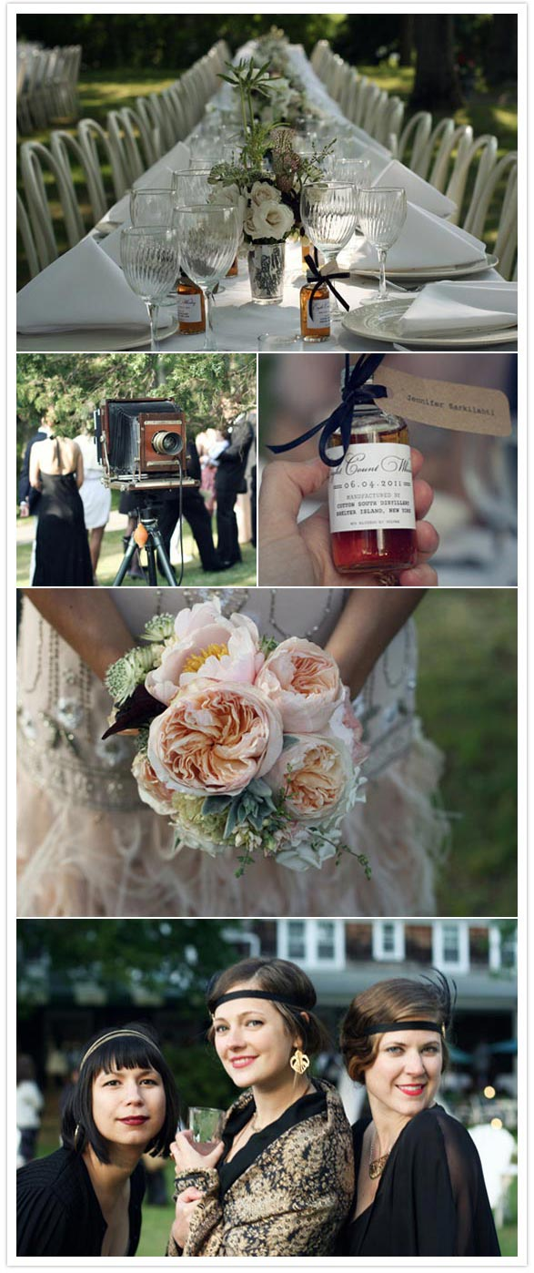 A Great Gatsby, 20's-inspired wedding: Shannon + Ed | Real Weddings | 100  Layer Cake