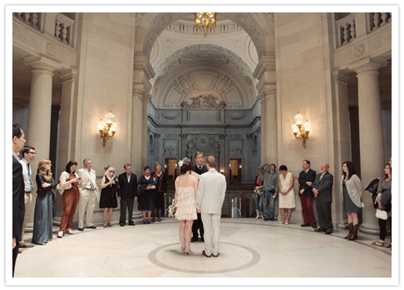 Whimsical San Francisco City Hall Wedding