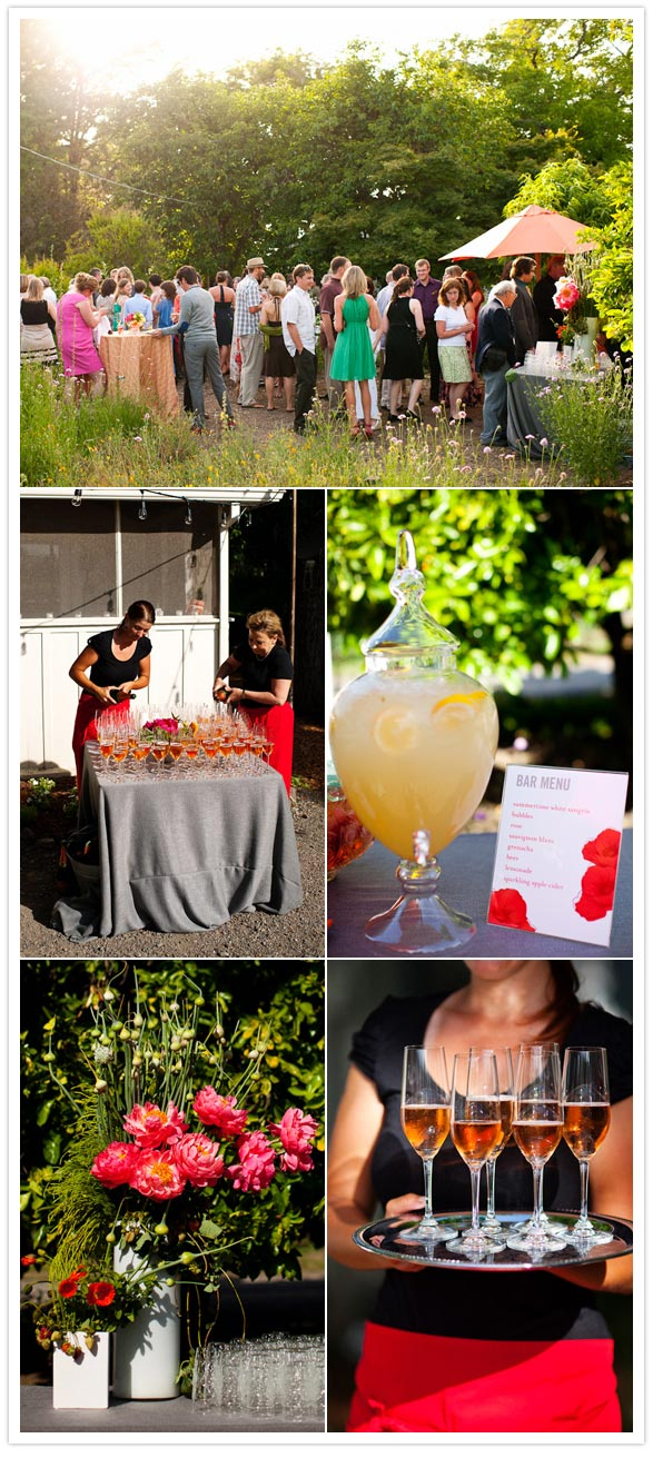 orange poppy california wedding