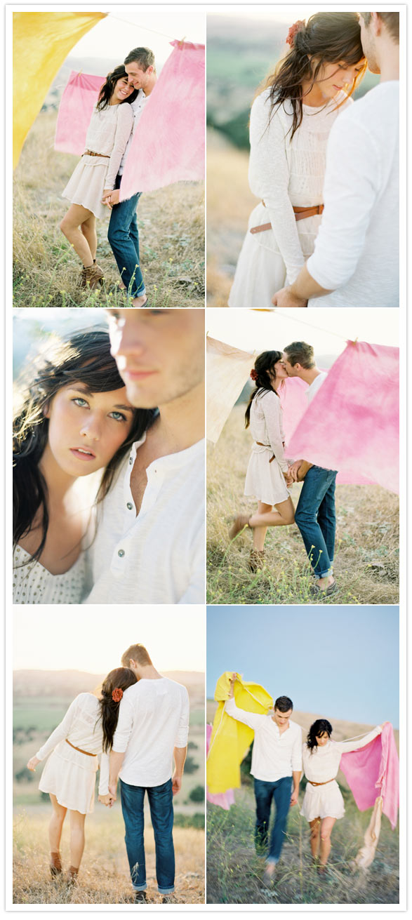 soft romantic love shoot