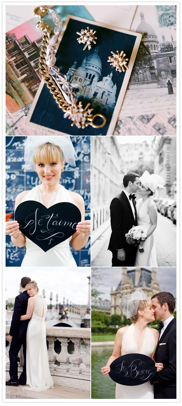 elegant paris france wedding