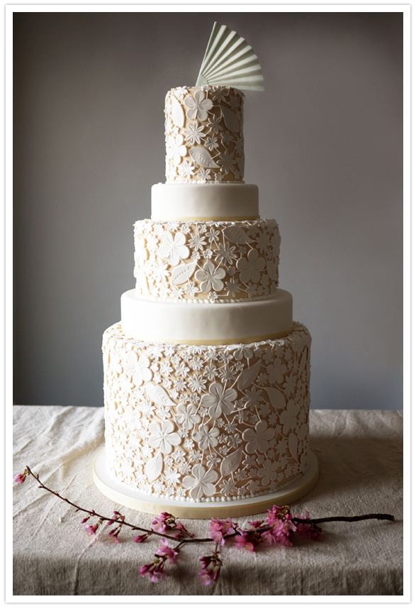 modern wedding cake designs modern wedding cakes wedding inspiration 100 layer cake 17473