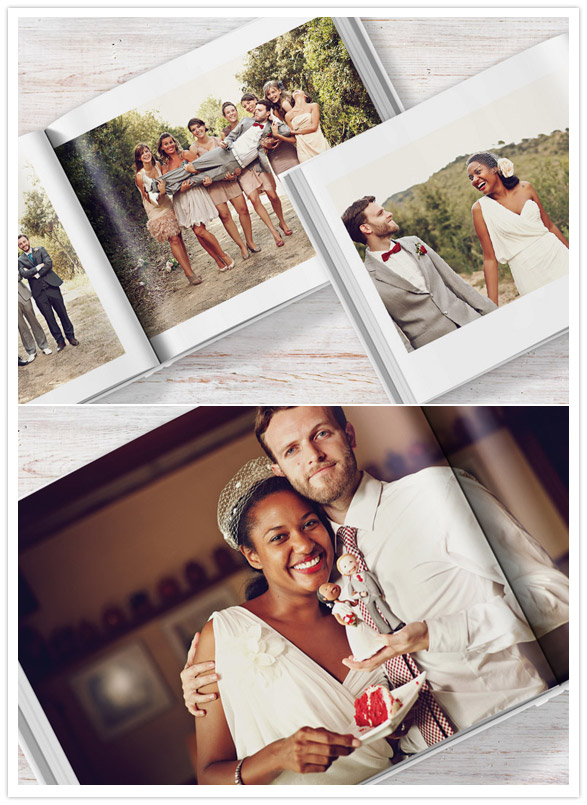 Blurb Wedding Books