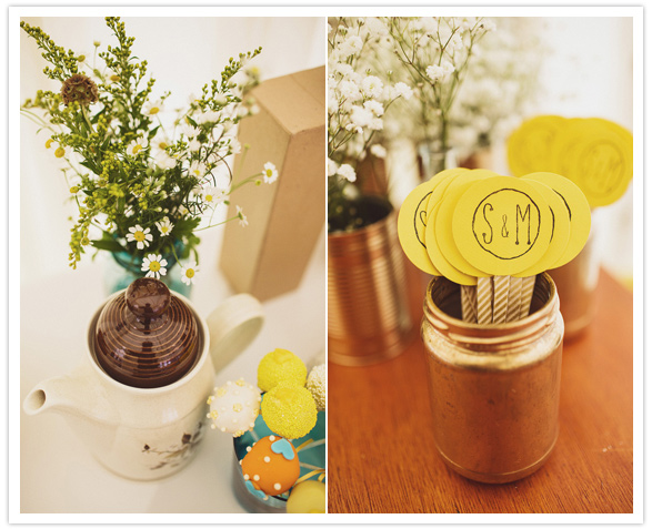 monogrammed paper accents