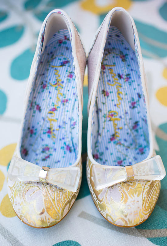 Irregular Choice Wowie Zowie Heel in Tapestry