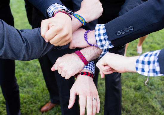 groomsmen best friends bracelets