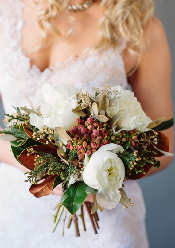 Magnolia Wedding Bouquet 100 Layer Cake