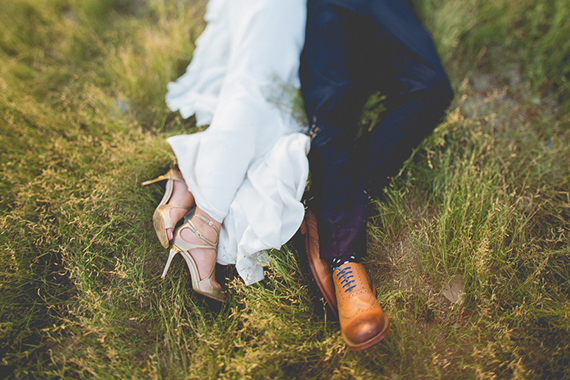 Jimmy Choo wedding shoes | Photos by Cana Family | 100 Layer Cake