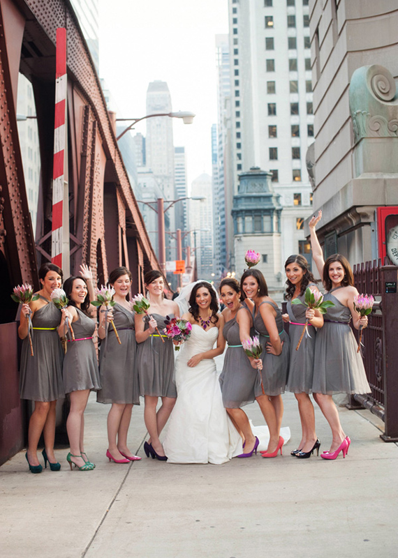 Neon Chicago Wedding Photo By West Loop Studios 100 Layer Cake