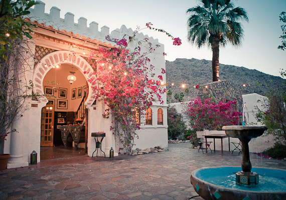 Korakia Palm Springs Wedding Venue Photo By Gary Ashley Of The Artist Collective