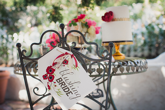 Handcrafted wedding signage  | photo by Zoom Theory Photography | 100 Layer Cake