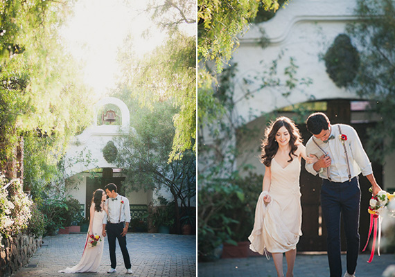 Modern Americana wedding inspiration | Kirstie Kelly wedding dress | photo by Zoom Theory Photography | 100 Layer Cake