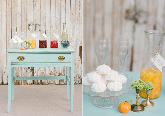 Bellini juice bar | photo by Lavender & Twine | 100 Layer Cake