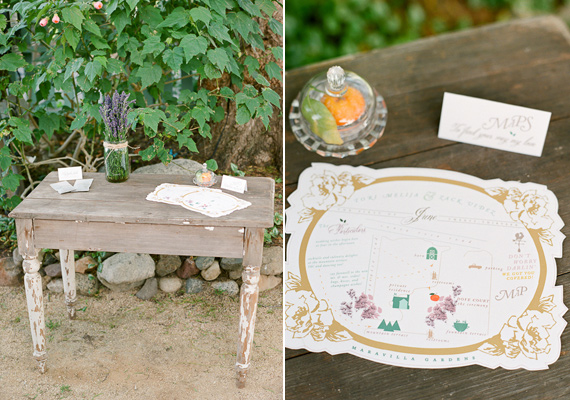Lavender and Citrus wedding inspiration | photo by Lavender & Twine | 100 Layer Cake