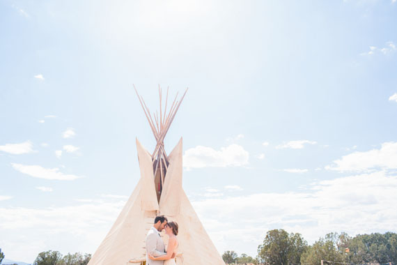 Bohemian New Mexico Wedding Photo By Jennifer Emerling Of Yeah Weddings 100 Layer