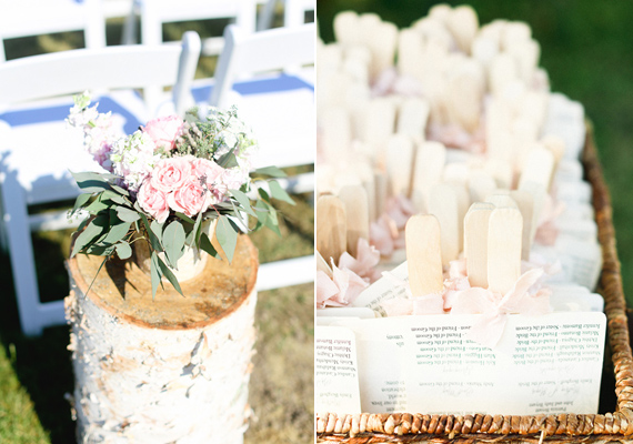 pink mint and gold wedding | photo by Cassandra Photo | 100 Layer Cake