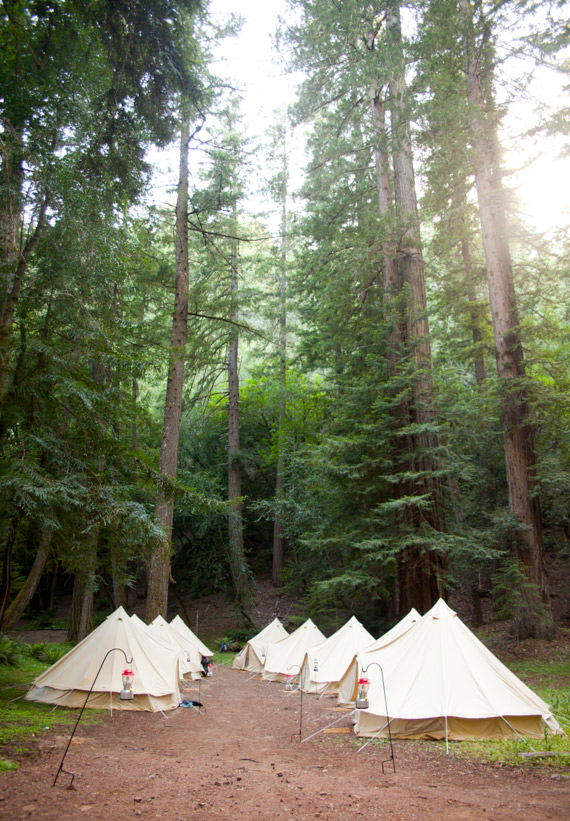 Northern California Glamping Wedding Photo By Jen Siska Read More Http