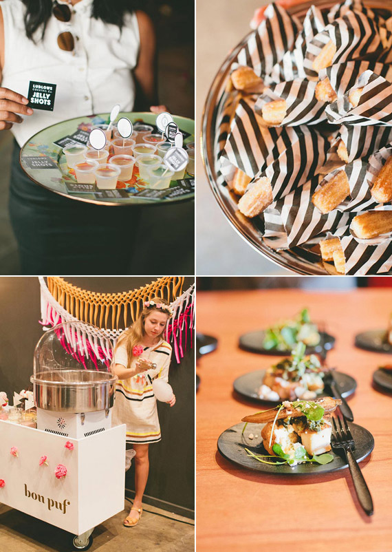 The Cream wedding event LA | Photo by One Love Photography | Read more - https://www.100layercake.com/blog/?p=71083