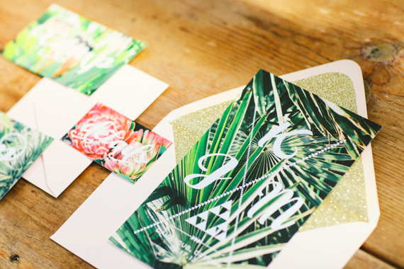 Tropical Wedding Invitation Photo By Love Lit Photography Read More Http