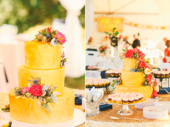 Yellow Wedding Cake Photo By Love Lit Photography Read More Http