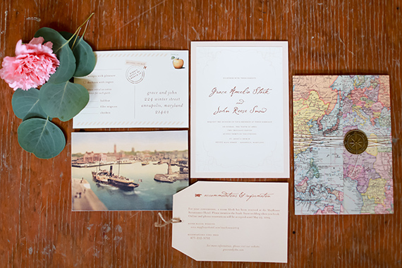 Old world travel wedding inspiration | Photo by Sarah Goodwin Photography | Read more -  https://www.100layercake.com/blog/?p=74082