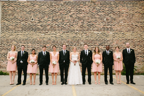 Pink bridesmaid dresses | Photo by Katie Kett Photography | Read more - https://www.100layercake.com/blog/?p=76330