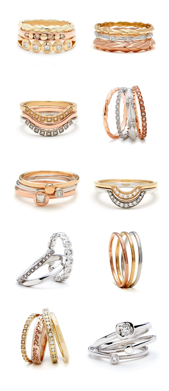 Anna Sheffield Wedding and Everyday Rings | 100 Layer Cake