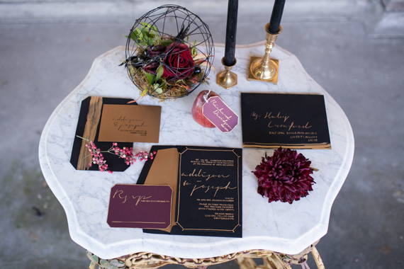 Enchanted masquerade wedding + party inspiration | Photo by Cassandra Castaneda Photography | Read more -  https://www.100layercake.com/blog/?p=80909