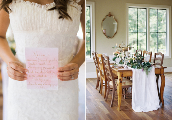Watercolor French Provincial Wedding Inspiration Photo By Live View Studios Read More Http