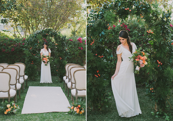 Intimate Hollywood Hills Inspiration | Photo by Fondly Forever Photography | Read more -  https://www.100layercake.com/blog/?p=81445