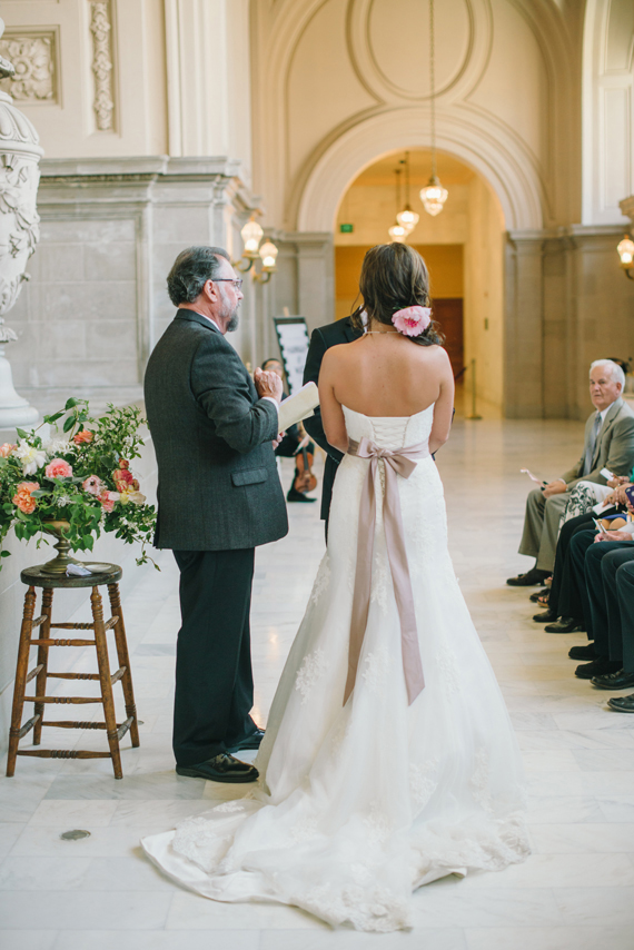 Go Intimate San Francisco Court House Wedding Photo By Delbarr Moradi Photography Read More