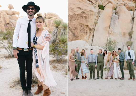 Intimate 29 Palms Desert Wedding Photo By Rad And In Love Read More