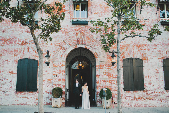 Carondelet House wedding | Photo by Katie Pritchard Photo | Read more - https://www.100layercake.com/blog/wp-content/uploads/2015/03/Carondelet-House-wedding