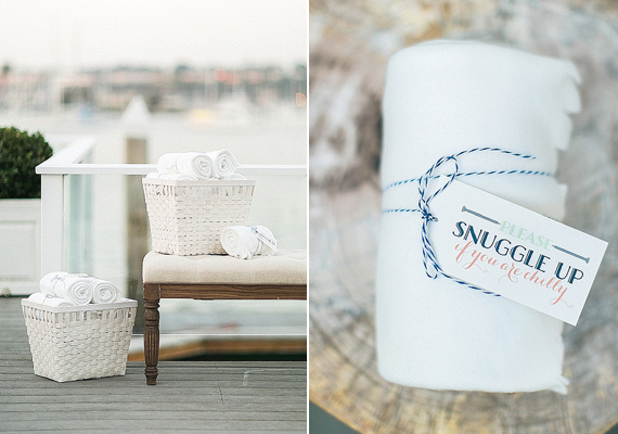 Modern nautical wedding | Photo by Troy Grover Photographers | Read more -  https://www.100layercake.com/blog/wp-content/uploads/2015/03/Modern-nautical-wedding