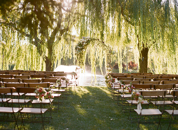 Outdoor Napa Wedding Photo By Sylvie Gil 100 Layer Cake