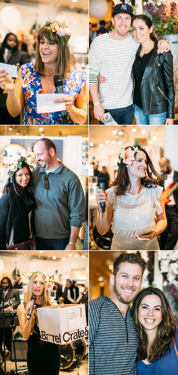 Crate and Barrel event