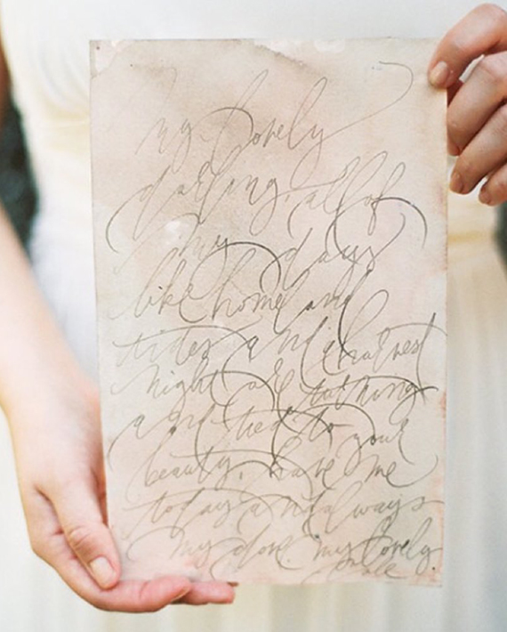 old world calligraphy