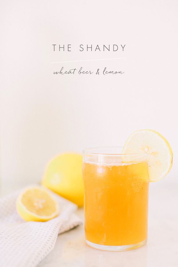 Shandy cocktail recipe