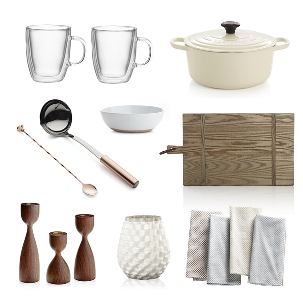cocktail products from Crate and Barrel