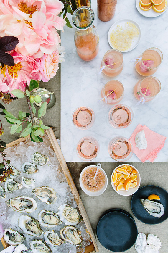 Oysters and Rose Summer Party