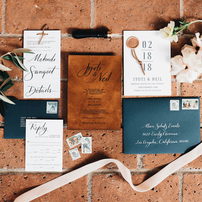 Elegant fall Rancho Santa Fe wedding
