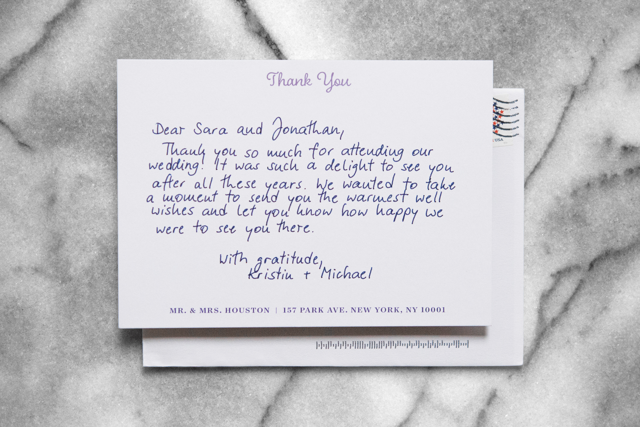 Personalize your wedding correspondence with Bond.co