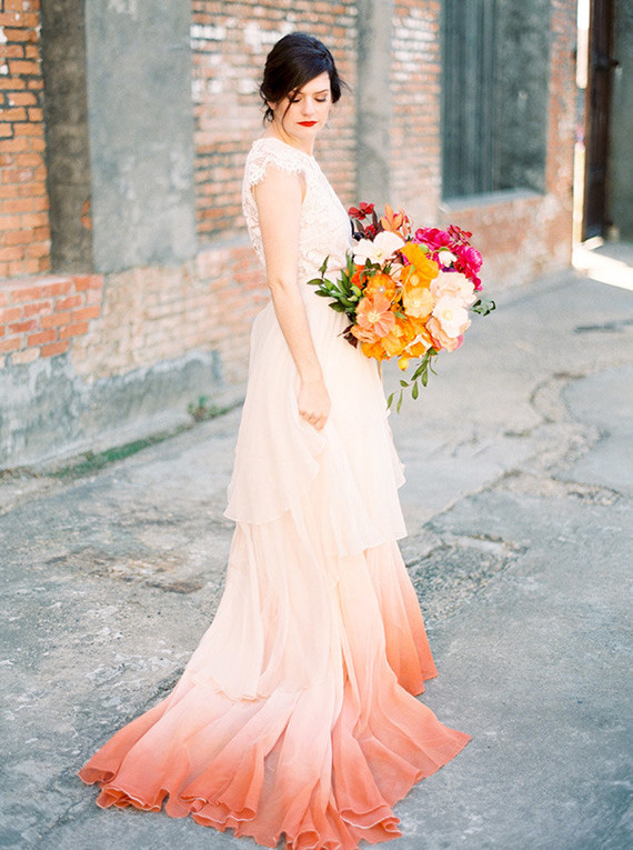 Colorful Hand Dyed Wedding Dresses Dyed Wedding Dress,Mother Of The Groom Beach Wedding Dresses