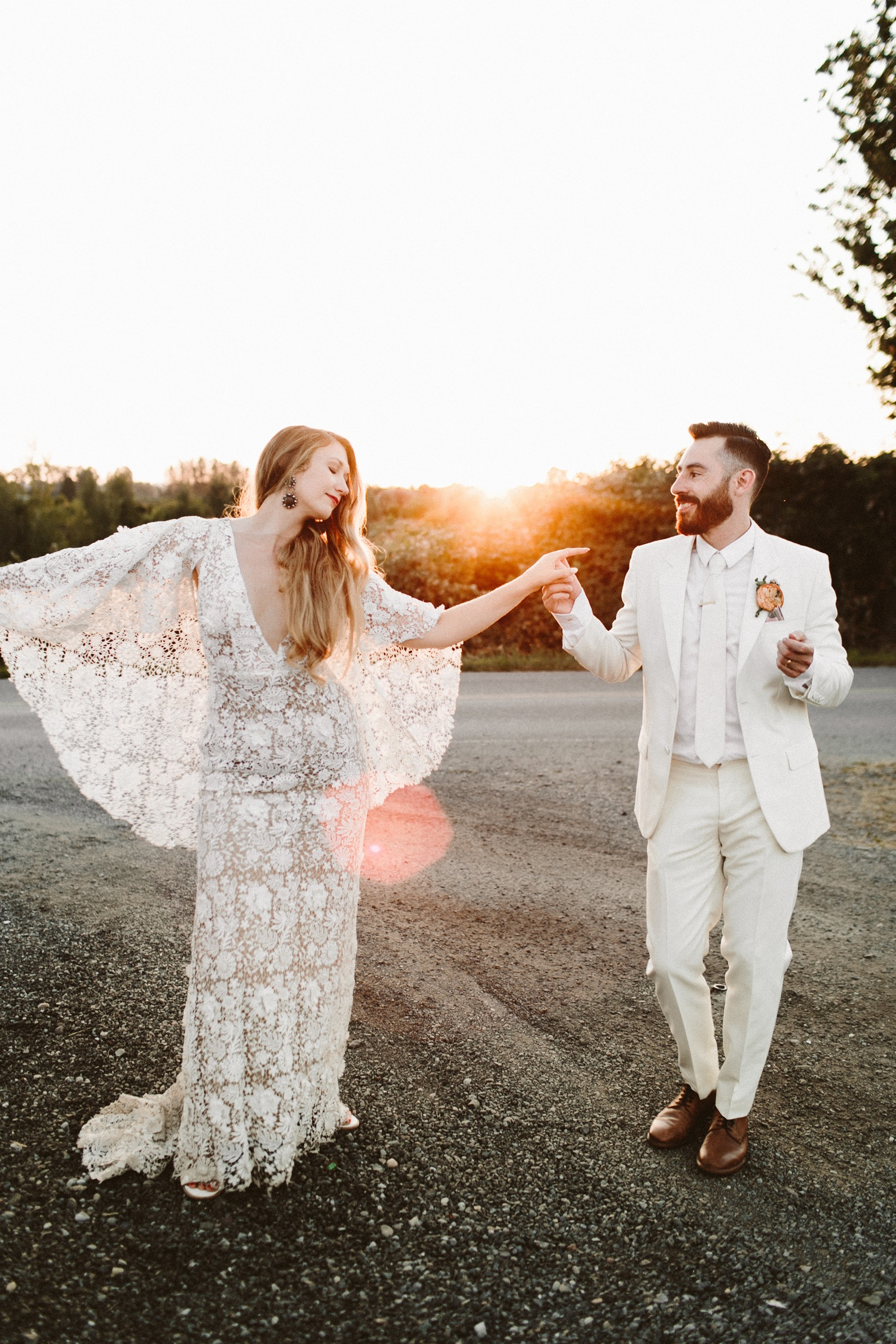 Dairyland wedding by Allison Harp