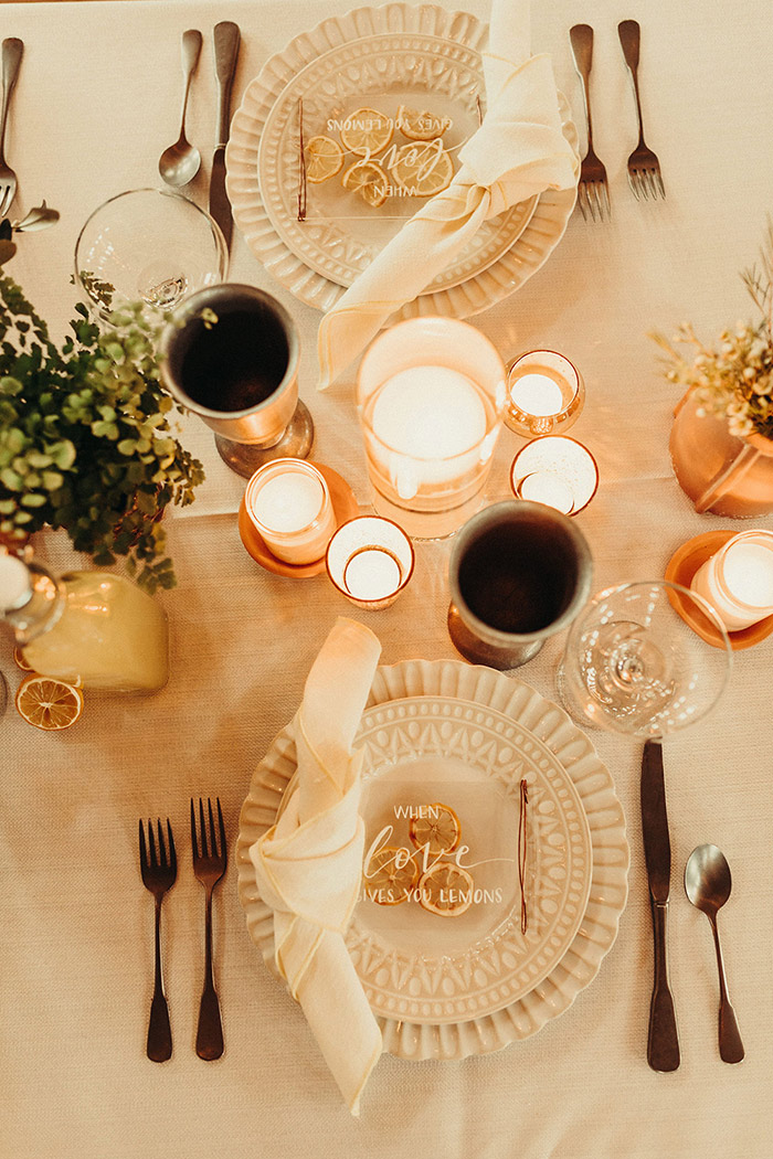Warm winter wedding ideas