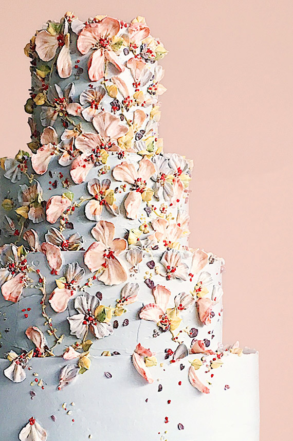 Artfully decorated cakes with Cynz Cakes