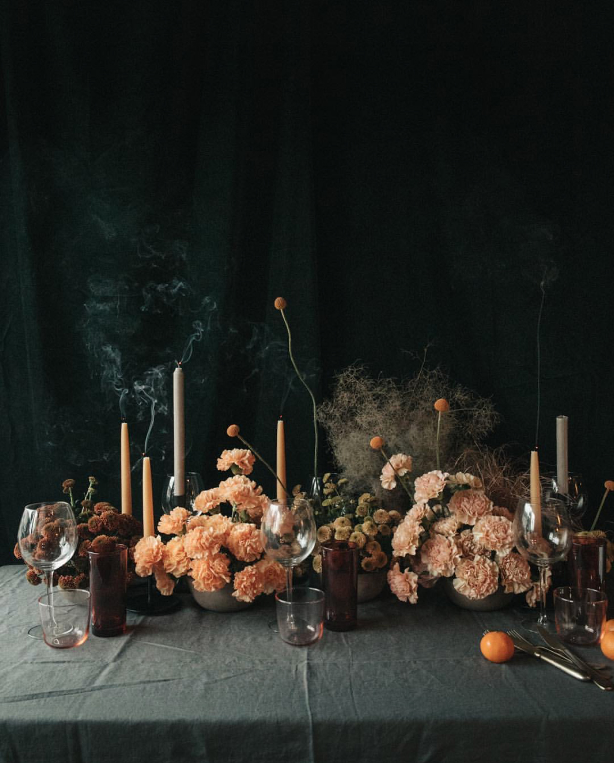 Fall table from Swallows and Damsons