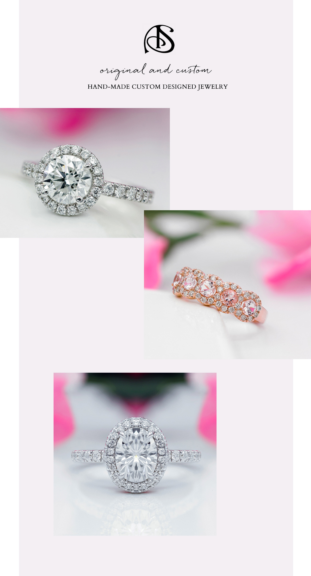 Alexander Sparks hand made engagement rings