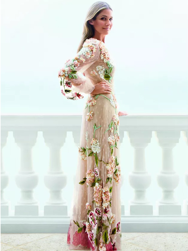 10 amazing floral wedding gowns for spring