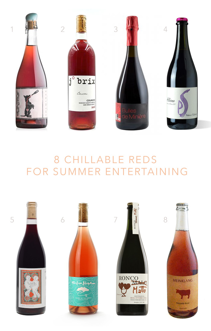 8 chillable reds for summer entertaining on 100 Layer Cake